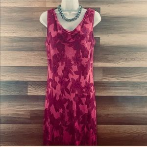 Long Jones New York Sleeveless Chiffon Dress  12